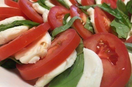 Caprese salad-poppopcooks.com