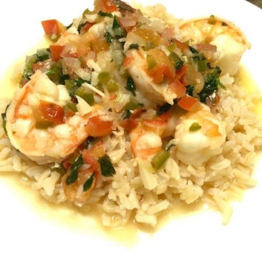 Sautéed Shrimp Mexican Style poppopcooks.com