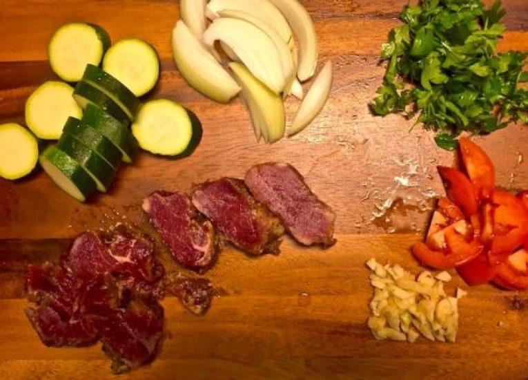 One Skillet Pork Tenderloin and Veggies2 poppopcooks.com