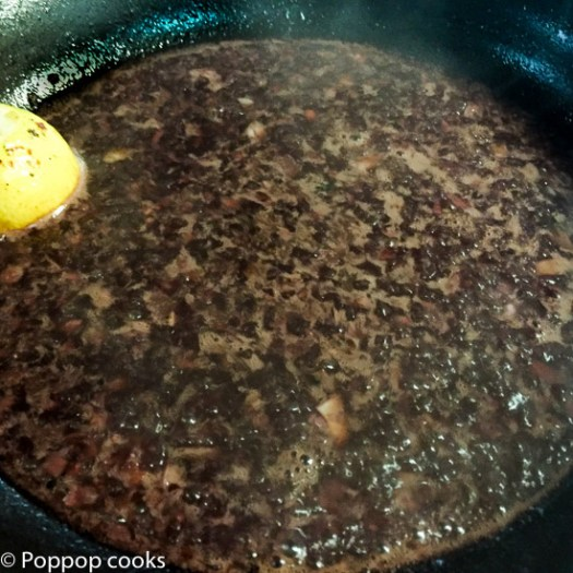 Beef Tenderloin Steaks Sauteed in Red Wine and Garlic Sauce-4-poppopcooks.com