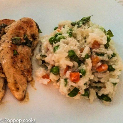 Italian Mozzarella rice-8-poppopcooks.com