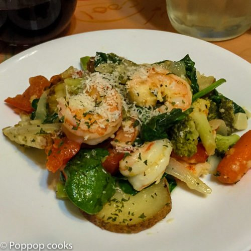 One Pan Shrimp and Veggies-10-poppopcooks.com