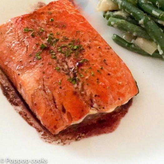 Pan Seared Salmon-5-poppopcooks.com