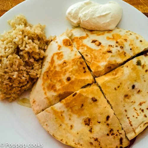 Chicken Quesadillas-8