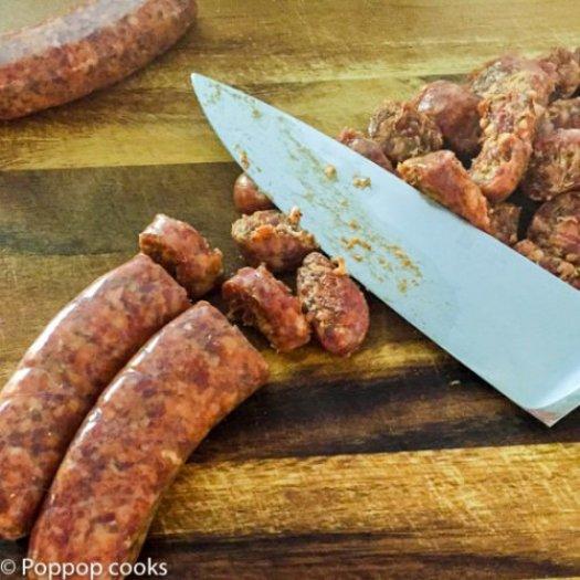 Italian Sausage and Broccoli-poppopcooks.com