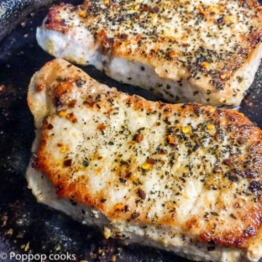 Spicy Pork Chops-5-poppopcooks.com