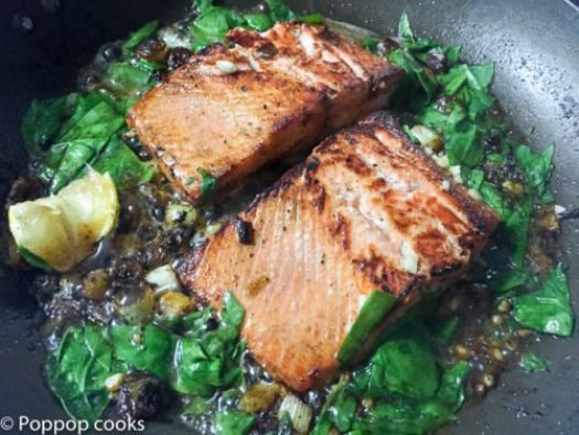 Lemon Butter Salmon-11-poppopcooks.com