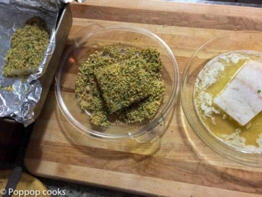 Lemon Zested Cod Filets-4-poppopcooks.com
