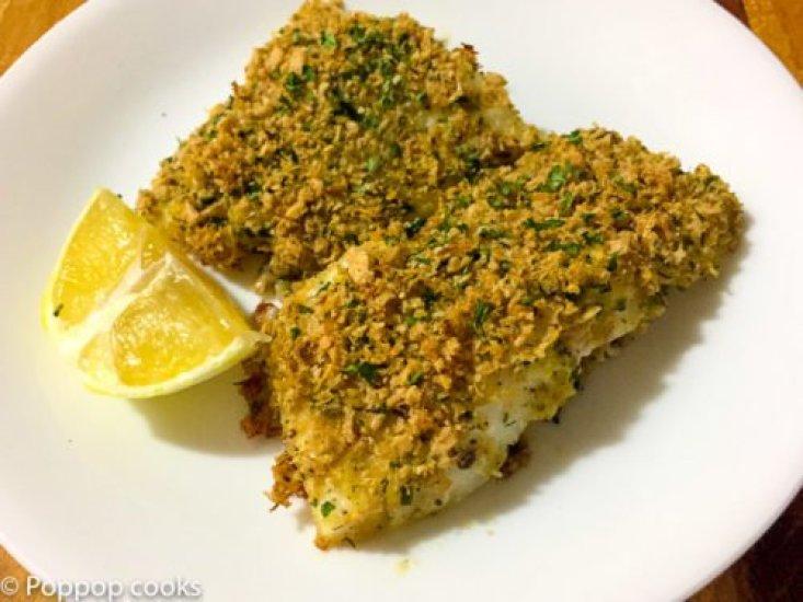 Lemon Zested Cod Filets-8-poppopcooks.com