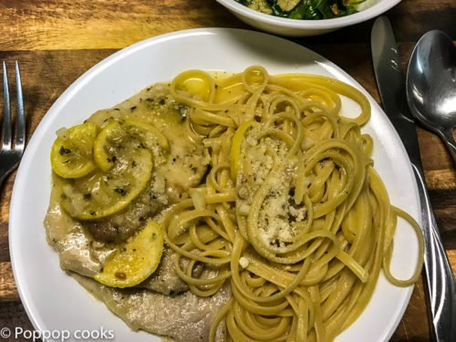 Pork Scallopini-5-poppopcooks.com-Lemon-Garlic