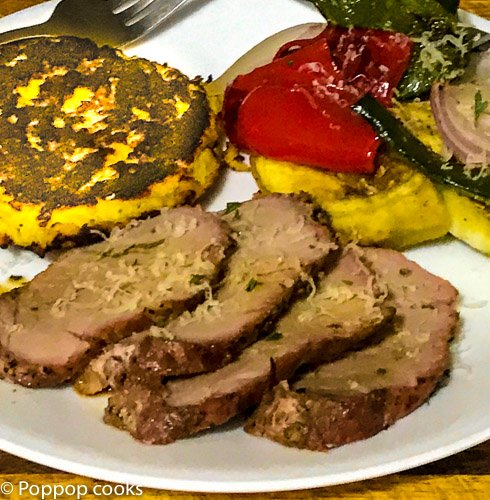 Oven Baked Pork Tenderloin and Italian Vegetables-4-poppopcooks.com-quick and easy recipes-paleo recipes-gluten free recipes-pork tenderloin recipes