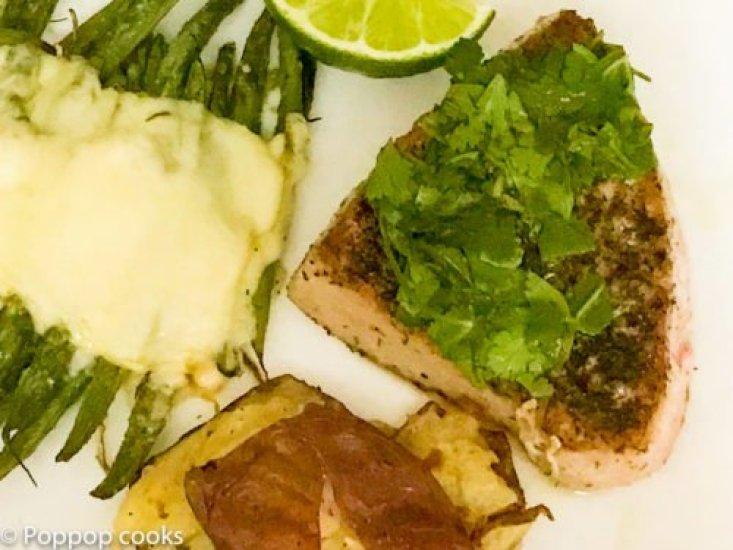 Pan Seared Steak-9-poppopcooks.com seared tuna-quick and easy-tuna recipes-gluten free recipes