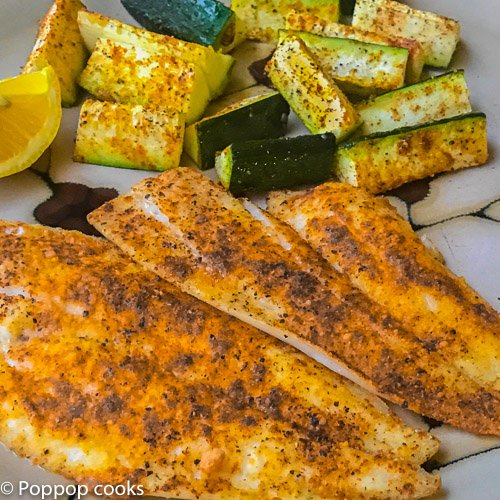 Baked Flounder Filets - 20 Minutes - Quick and Easy ...