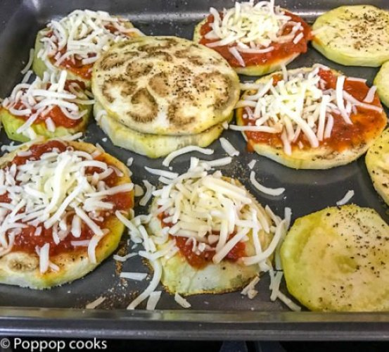 No Fry Eggplant Parmesan-poppopcooks.com-eggplant parmesan recipe-baked eggplant-eggplant-eggplant recipes-eggplant parmigiana