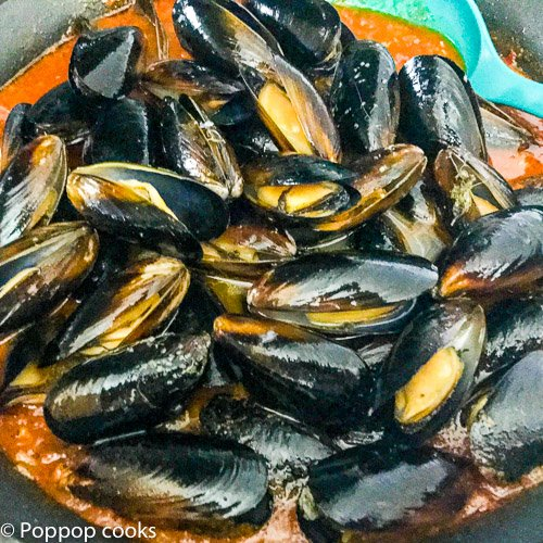 Barcelona Mussels Recipe-3-poppopcooks.com
