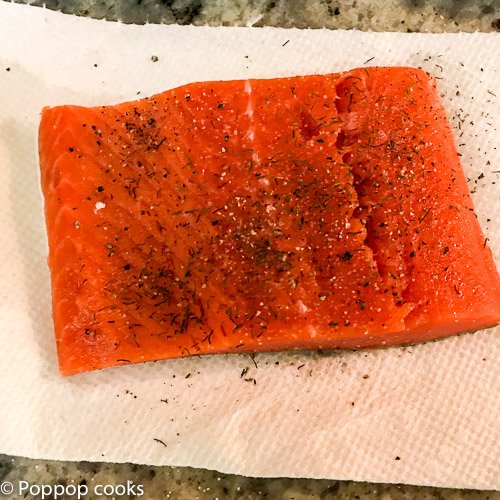 lemon mint salmon-poppopcooks.com-seafood-salmon recipe