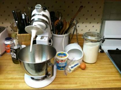 Pierogie Dough Ingredients & Equipment
