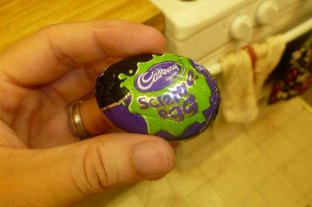 Cadbury Screme Egg In Wrapper
