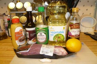 Marinated Flank Steak Ingredients