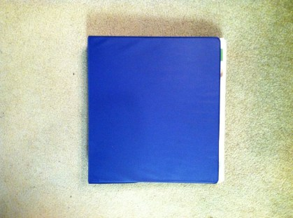 big blue binder 1