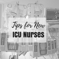 Tips for New Nurses in the ICU