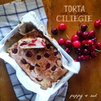 The cherry on top -  Torte con le prime ciliegie