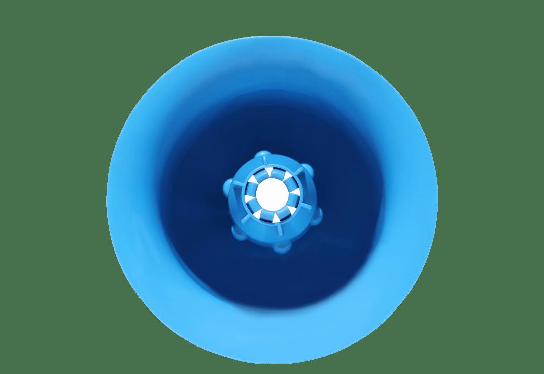 Poppybeach bleu vu du dessus