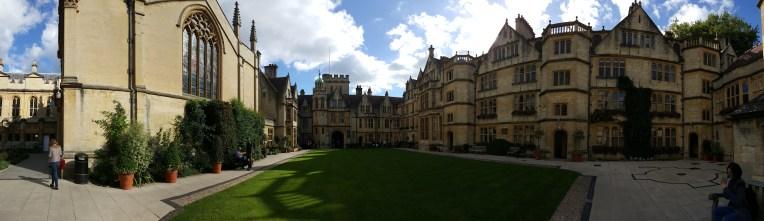 Brasenose College Exterior