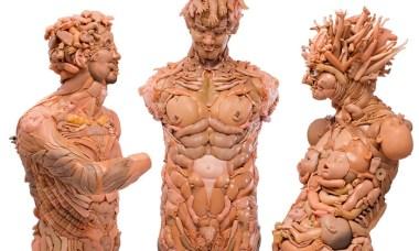 Barbie sculptures