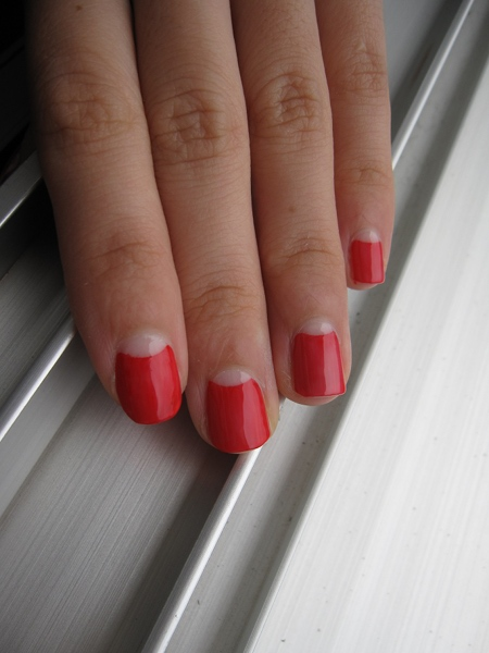 opi red fortune cookie poppynails