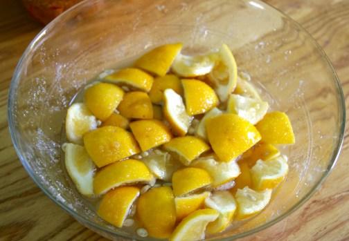 make a lemon shrub