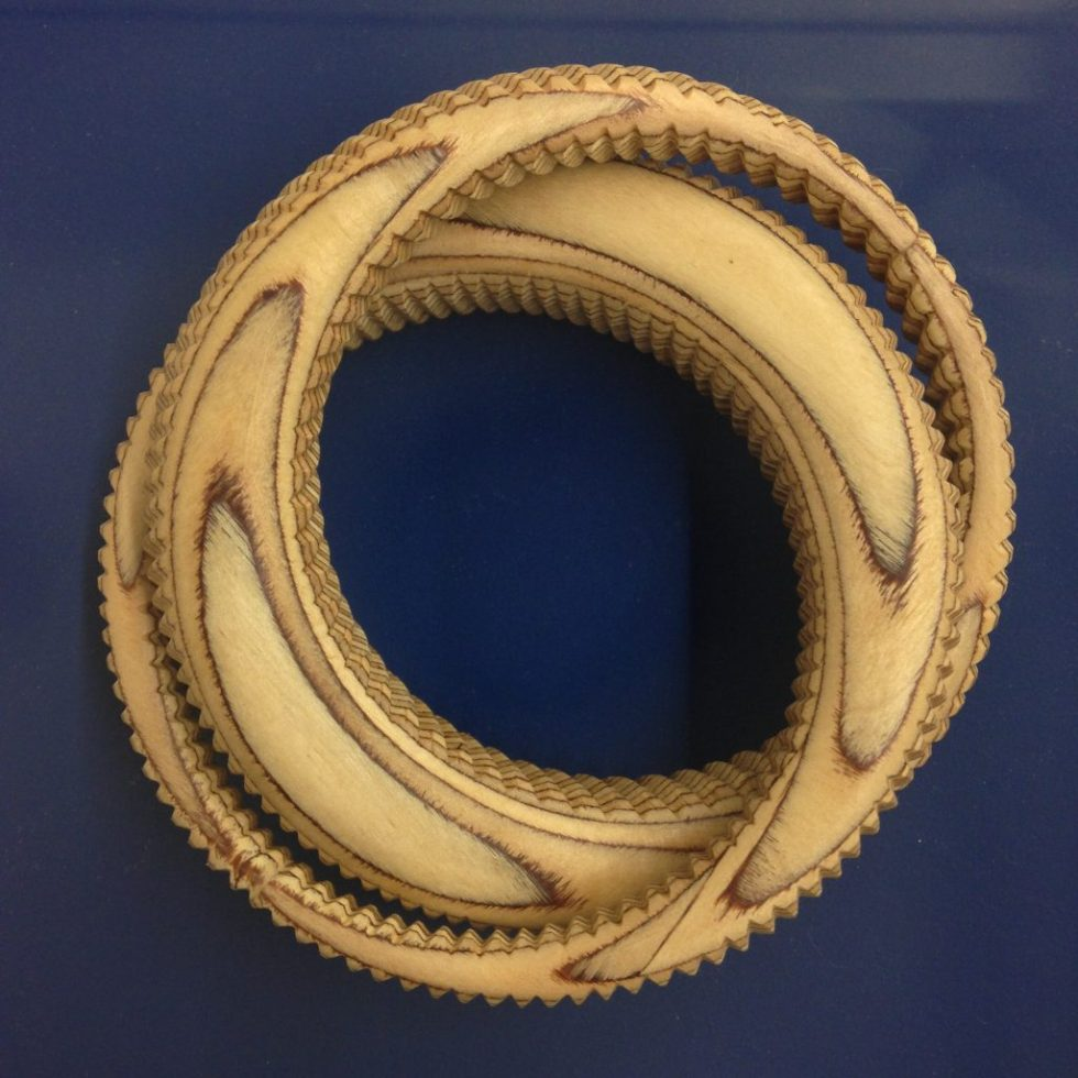 David Poston: Wooden Bangle Bracelet