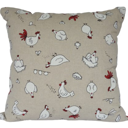 Character Chickens Scatter Cushion, home decor gift