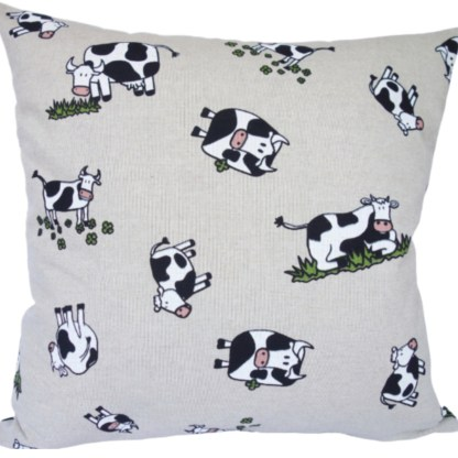 Character Cow Scatter Cushion