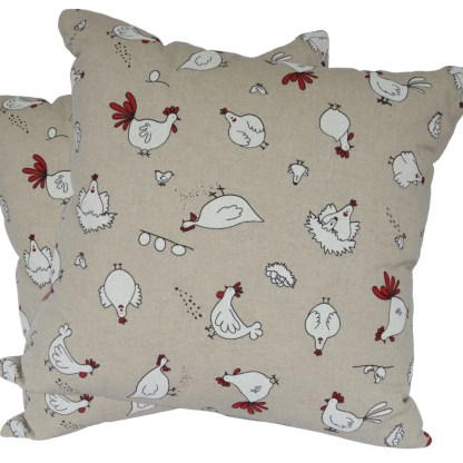 Character Chickens Scatter Cushion