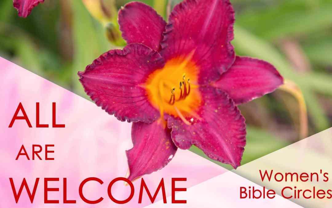 May Women's Circle Bible Studies