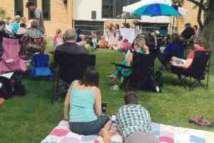 Worship Outdoors This Sunday