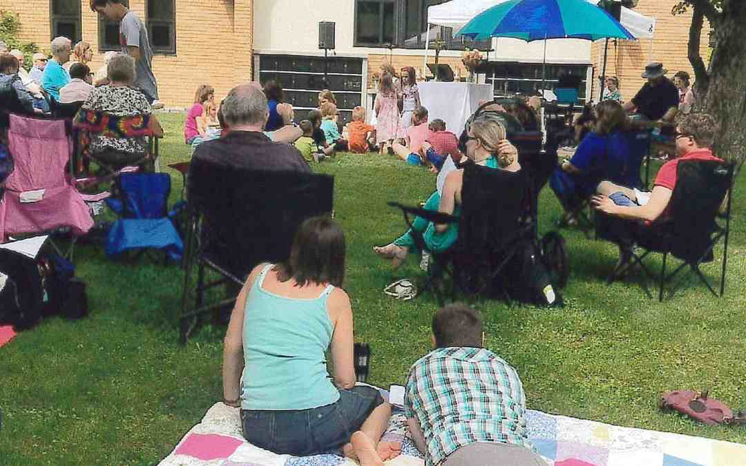 Worship Outdoors This Sunday
