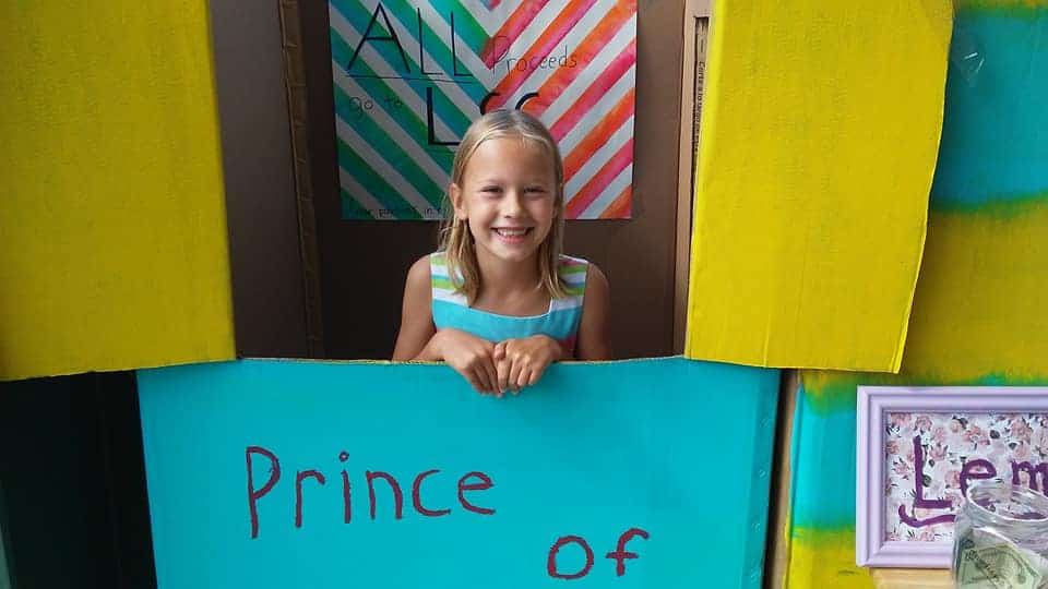The Lemonade Stand that Helped to Raise $1,028,175