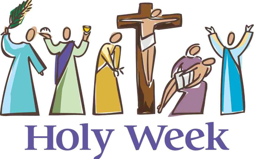2019 Holy Week Schedule