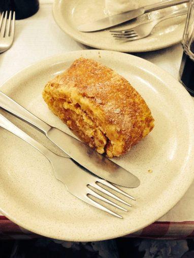 domowe ciastko pomarańczowe - bardzo jajeczne i koszmarnie słodkie w smaku