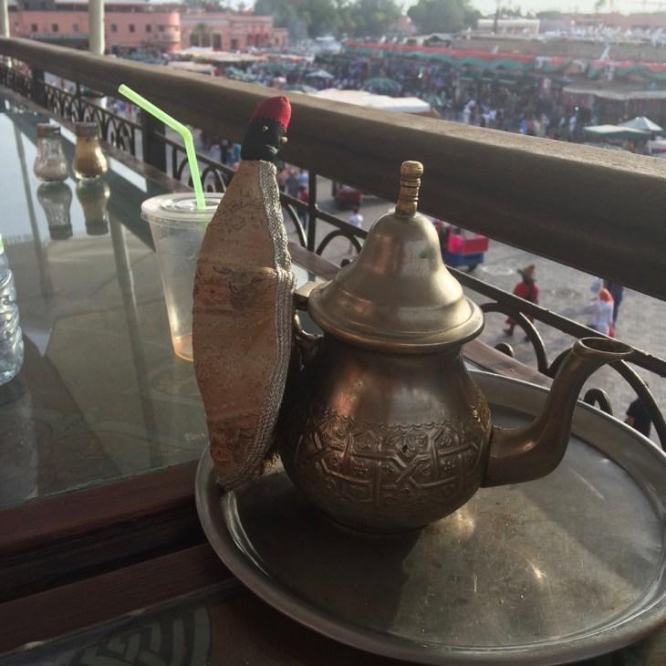 mięta w maroku