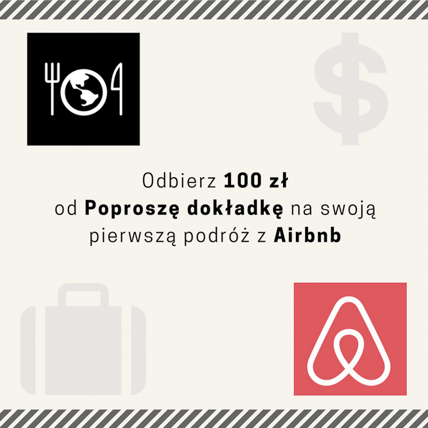 Kupon Airbnb Poproszę dokładkę