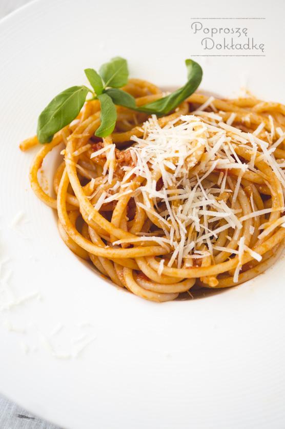 Spaghetti all'Amatriciana przepis