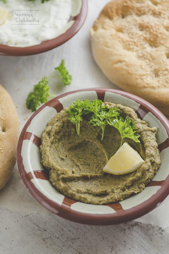 Melitzanosalata - grecka pasta z bakłażana przepis