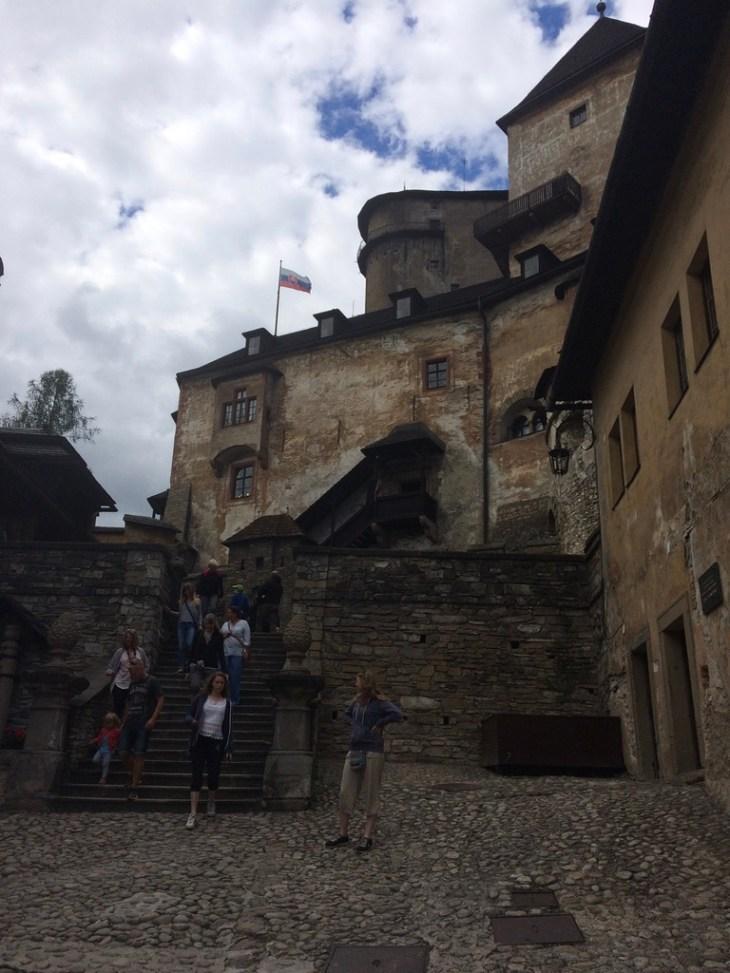 Zamek w Orawie