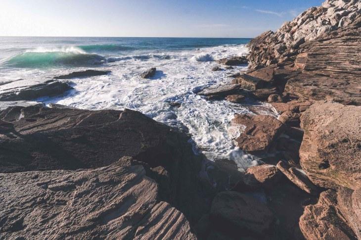 Wysokie fale na Cabo de Trafalgar