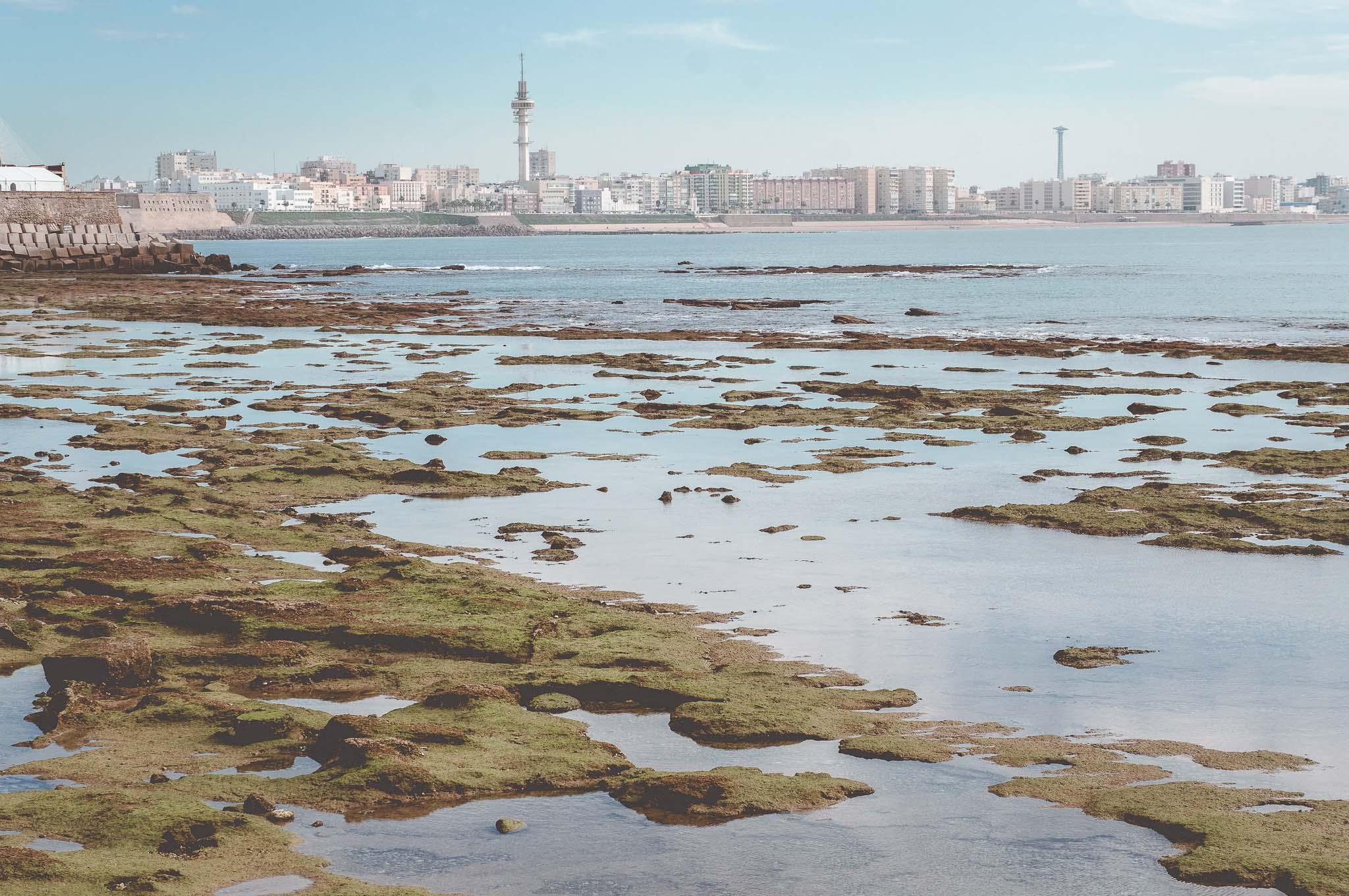 Widok na nową część miasta, Kadyks