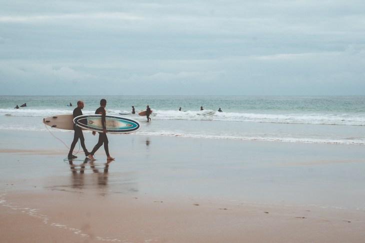 Surfing El Palmar, Andaluzja, Hiszpania