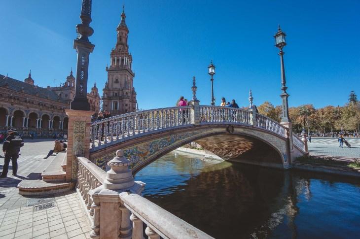 Sevilla, Plaza de Espana